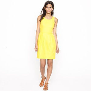 J Crew Sunshine summer Basket-weave Shift dress 12